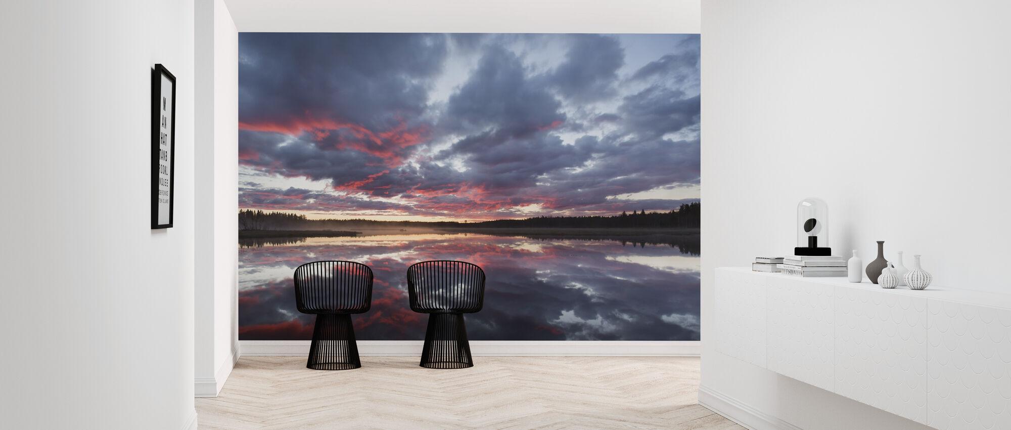 Nydalasjön, Västerbotten - Wallpaper - Hallway