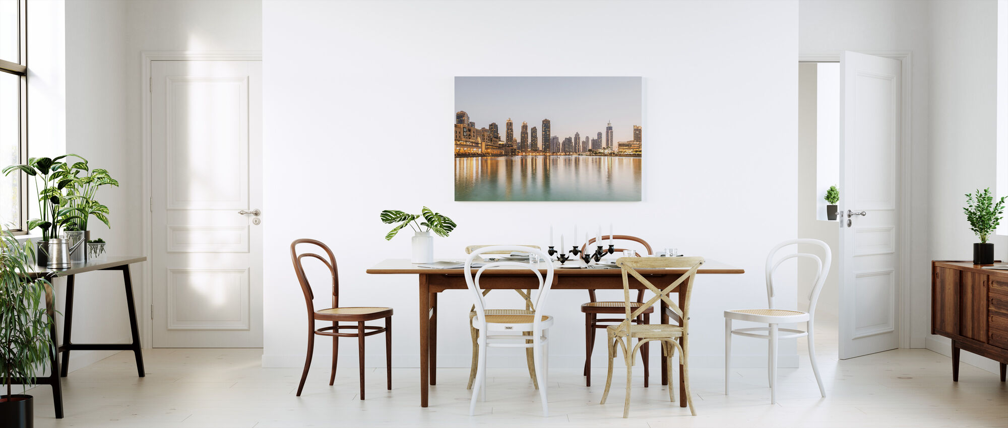 Dubai Cityscape - Canvas print - Kitchen