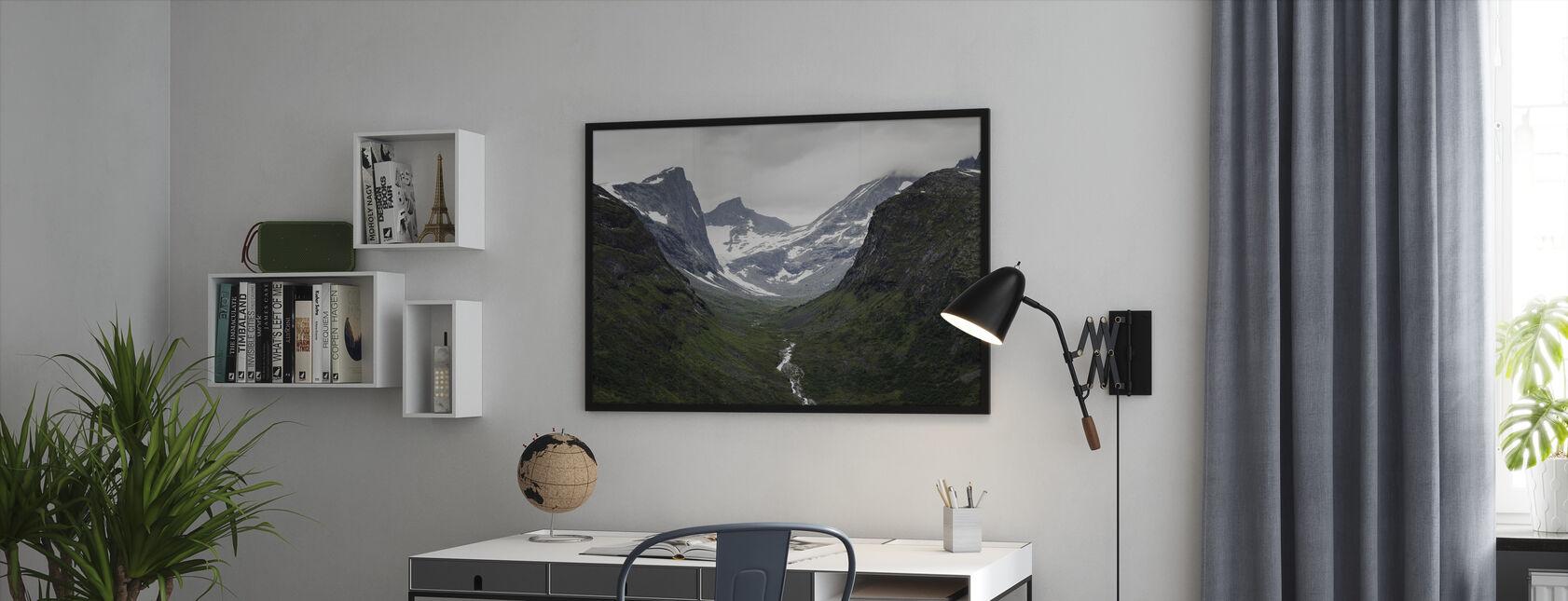 Jotunheimen, Norge - Innrammet bilde - Kontor