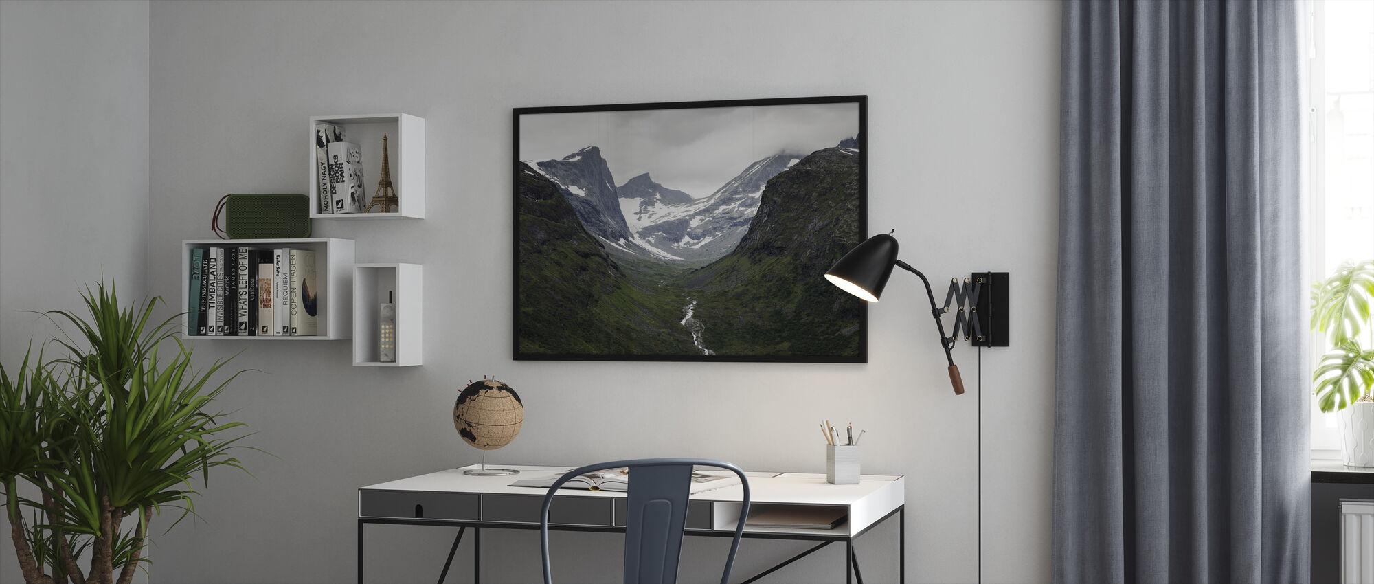 Jotunheimen, Norja - Kehystetty kuva - Toimisto
