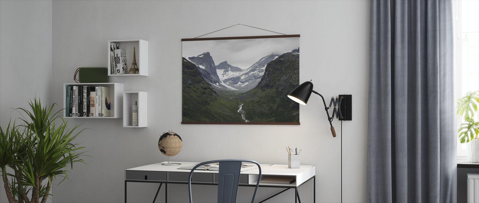 Jotunheimen, Norge - Plakat - Kontor