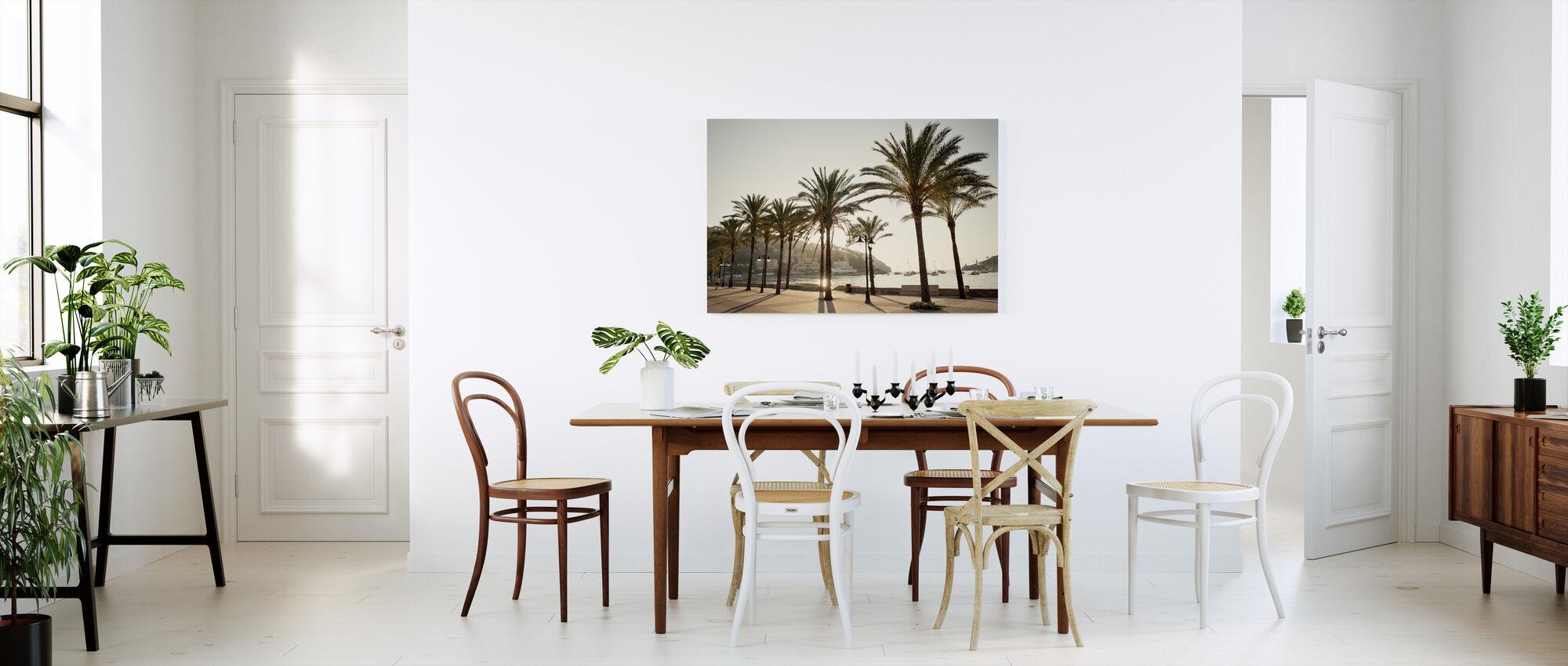 Mallorca Boardwalk - Canvas print - Kitchen