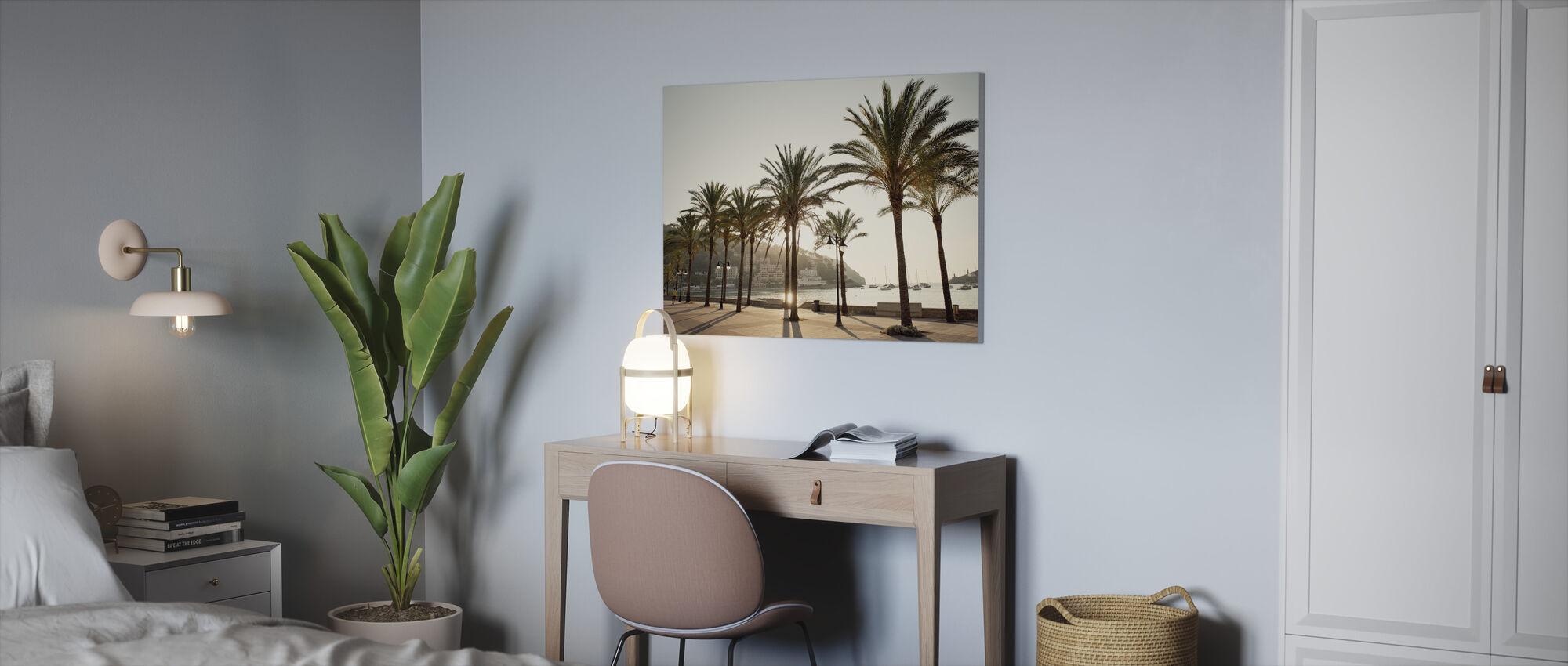 Mallorca Boardwalk - Canvas print - Kantoor