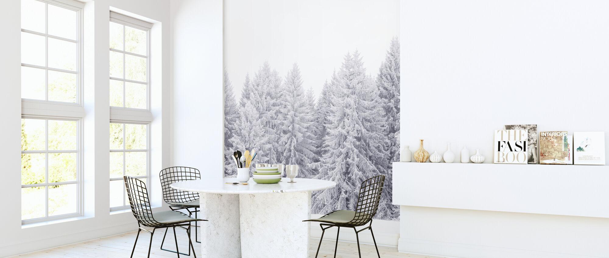 Värmland i hvitt - Tapet - Kjøkken