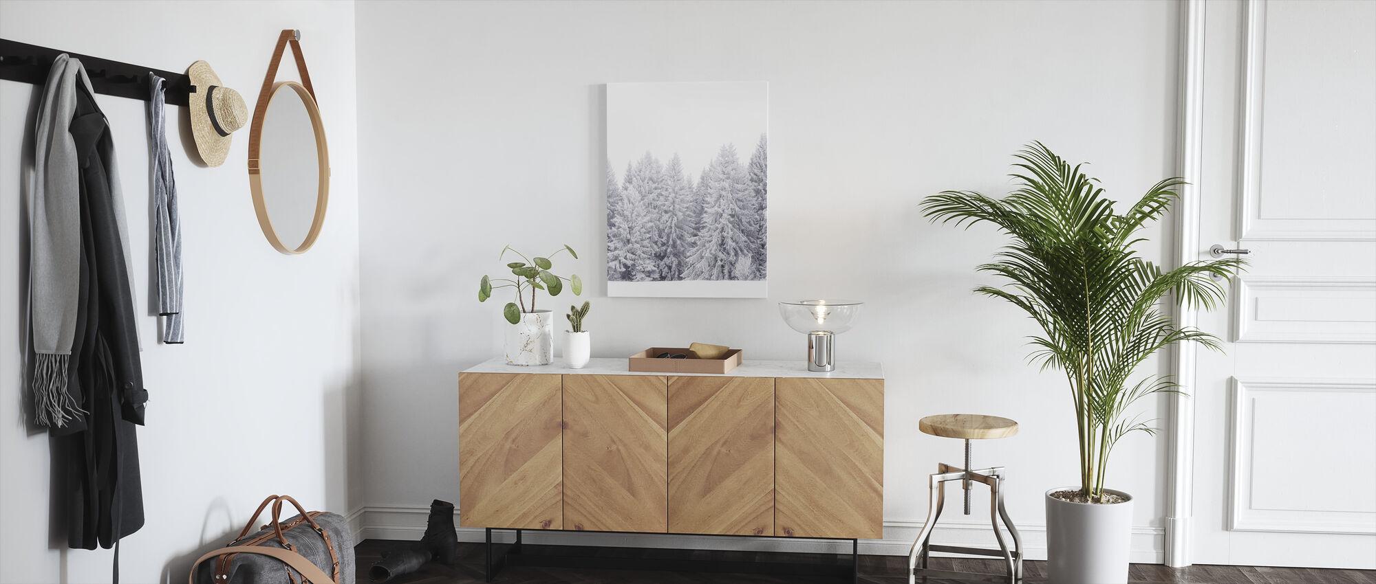Värmland in White - Canvas print - Hallway