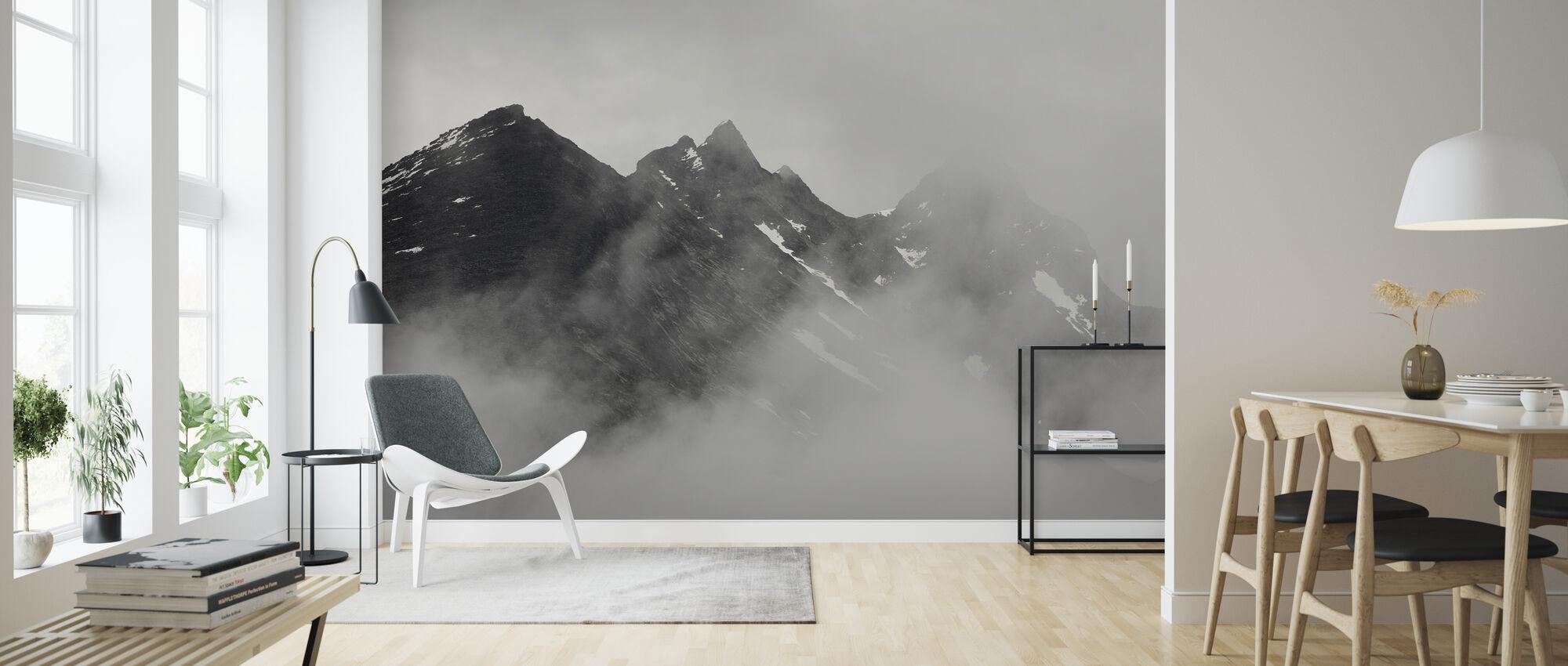 Vettisfossen-bjergene, Norge - Tapet - Stue