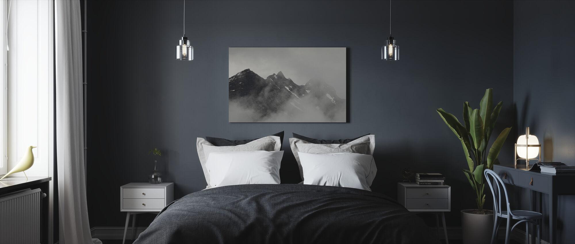 Vettisfossen Mountains, Norway - Canvas print - Bedroom