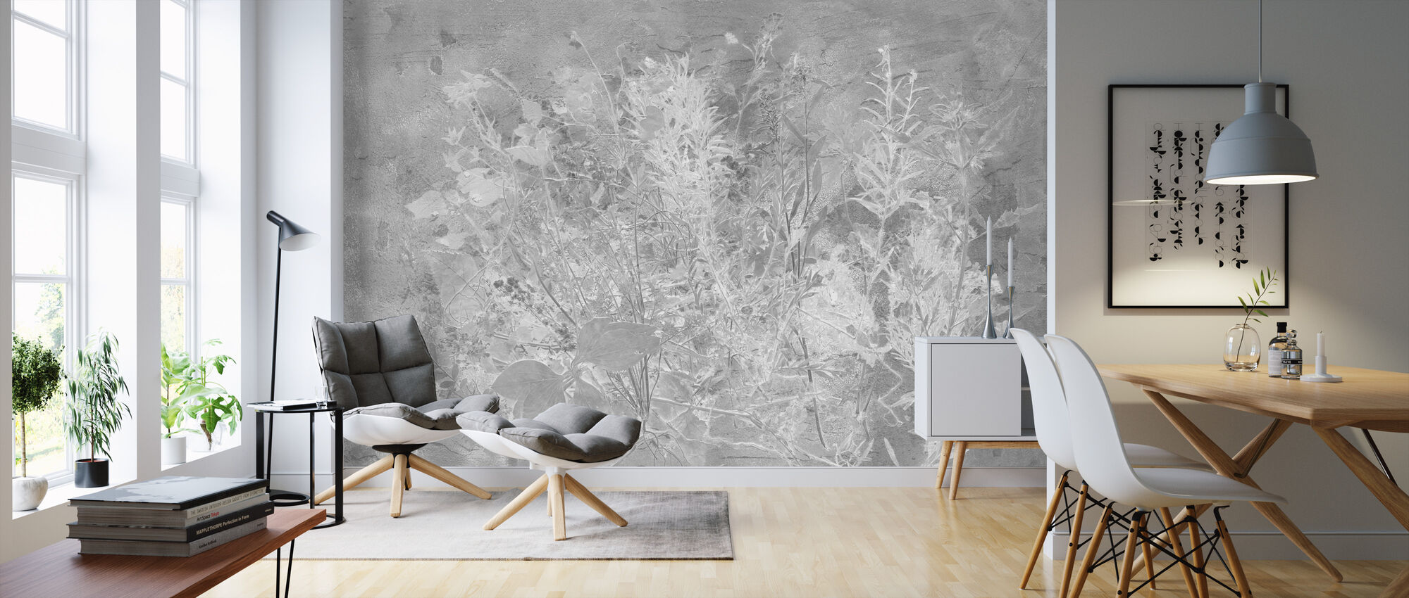Flora Hysterica 1 - Wallpaper - Living Room
