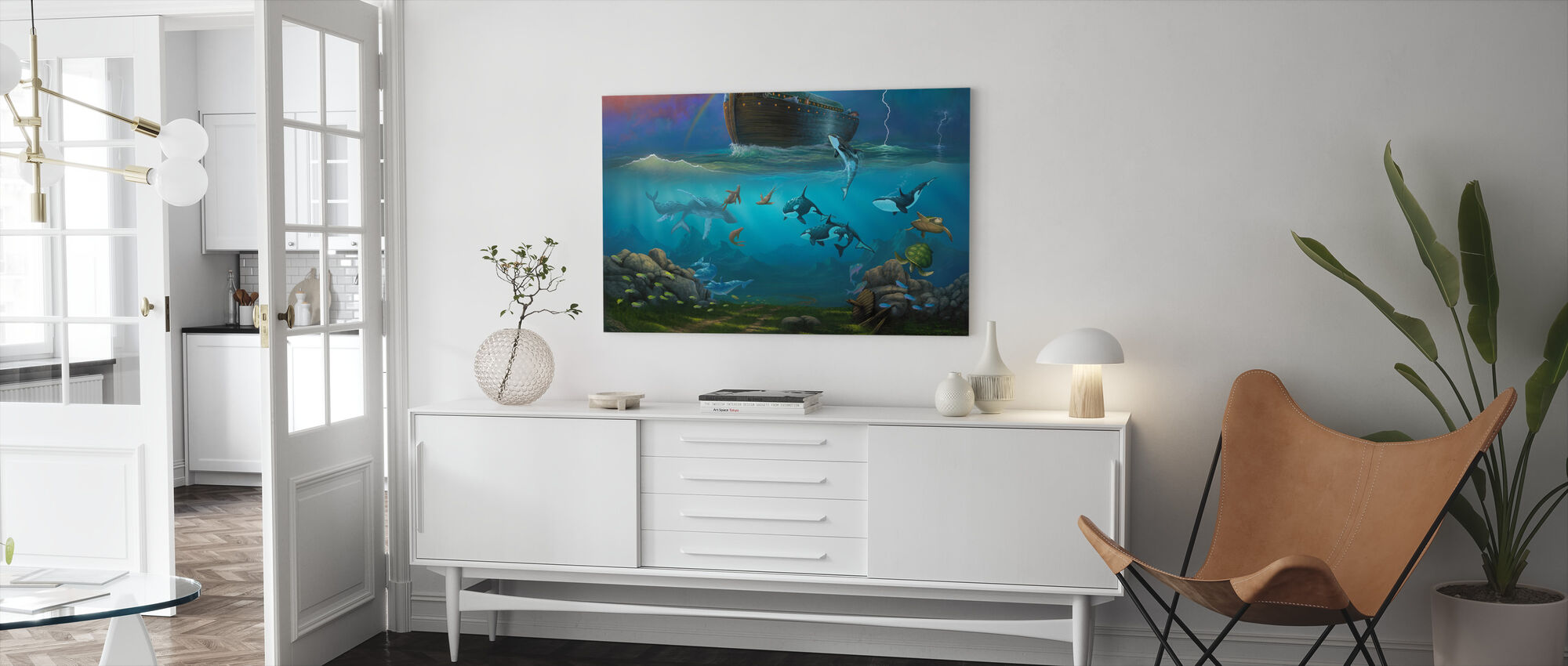Noah's Ark - Canvas print - Living Room