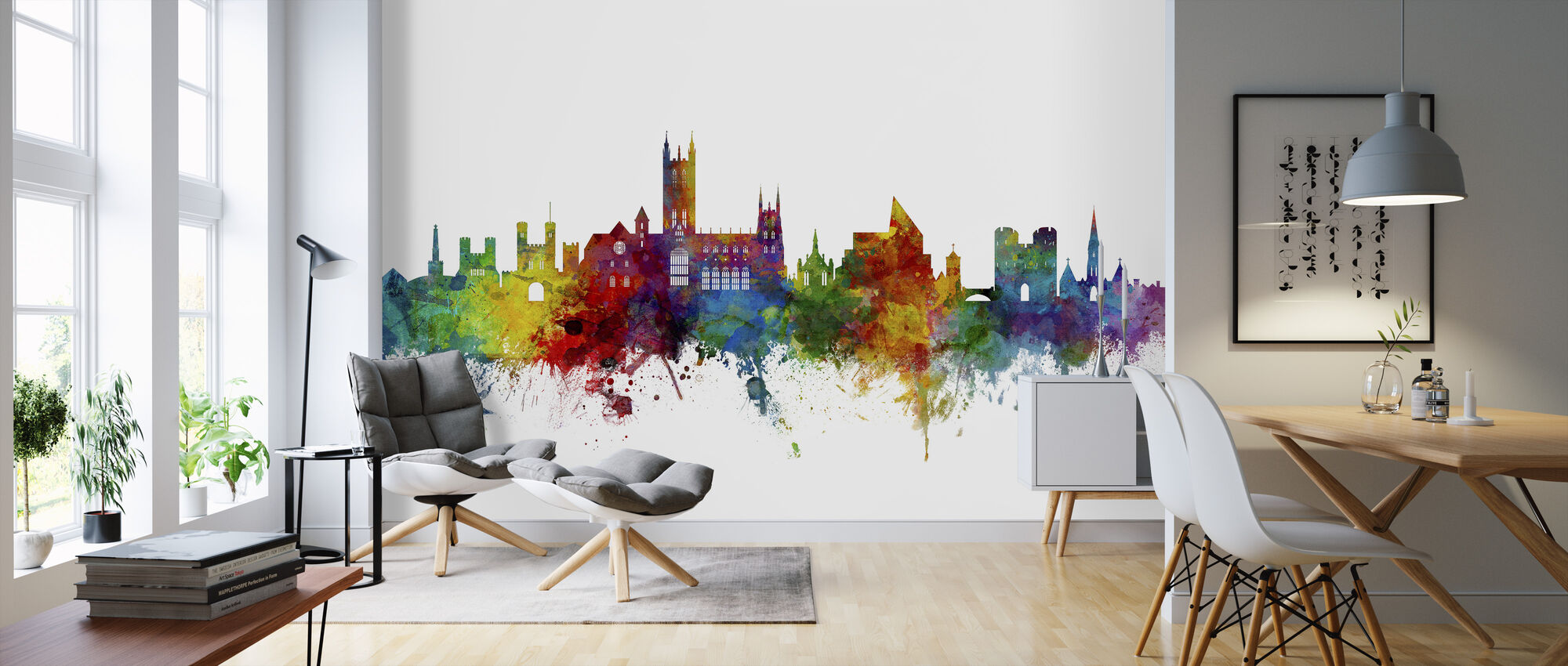 Canterbury Skyline - Wallpaper - Living Room