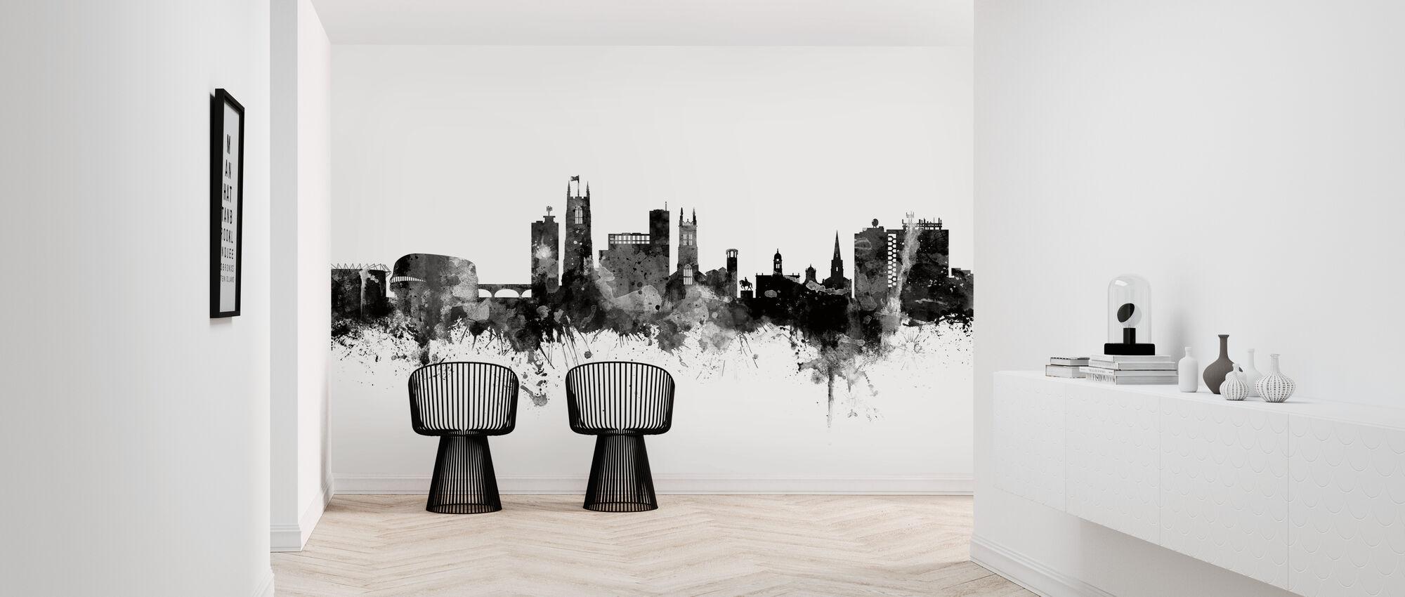Derby Skyline Black - Wallpaper - Hallway