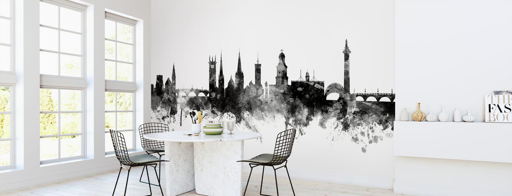 Shrewsbury Skyline Black - Wallpaper - Kitchen
