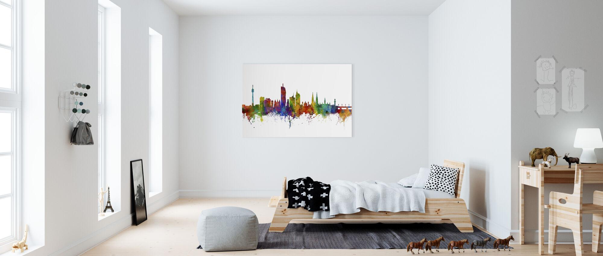 Wiedeń Skyline - Obraz na płótnie - Pokój dziecięcy
