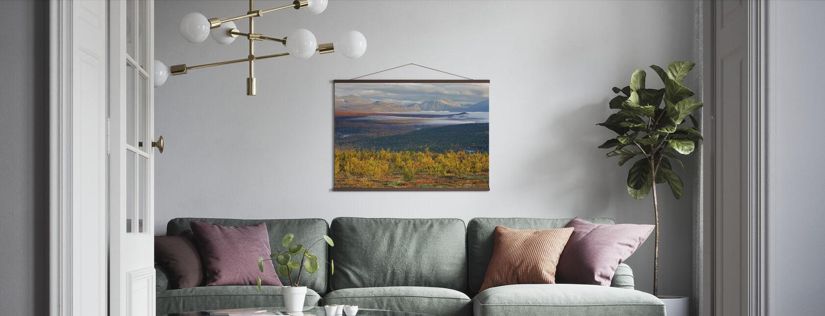 Herfst in Abisko - Poster - Woonkamer