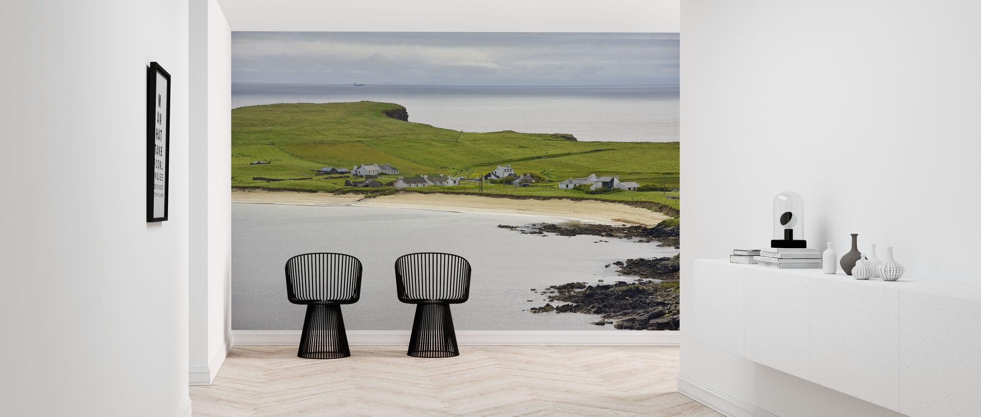Levenwick Bay, Shetland - Wallpaper - Hallway