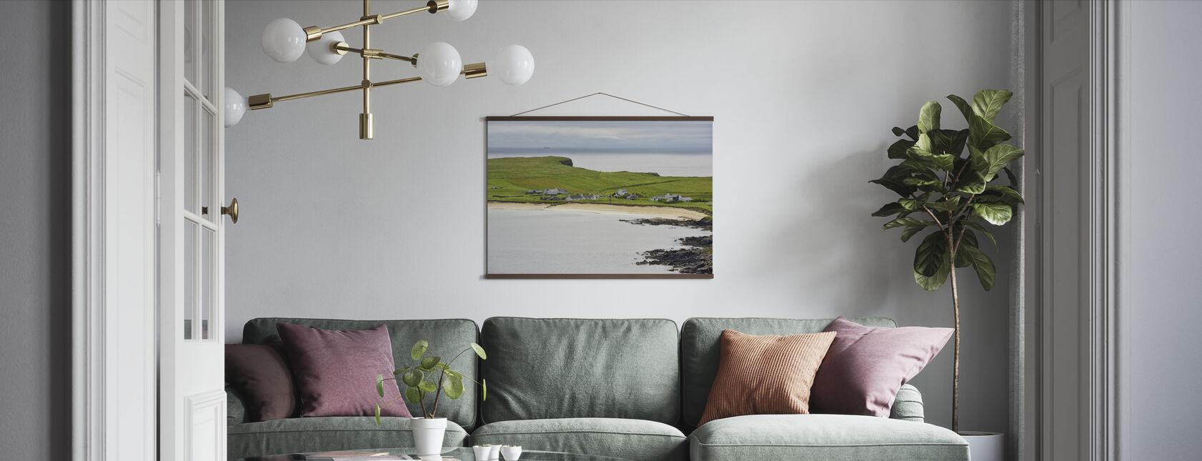 Levenwick Bay, Shetland - Poster - Living Room