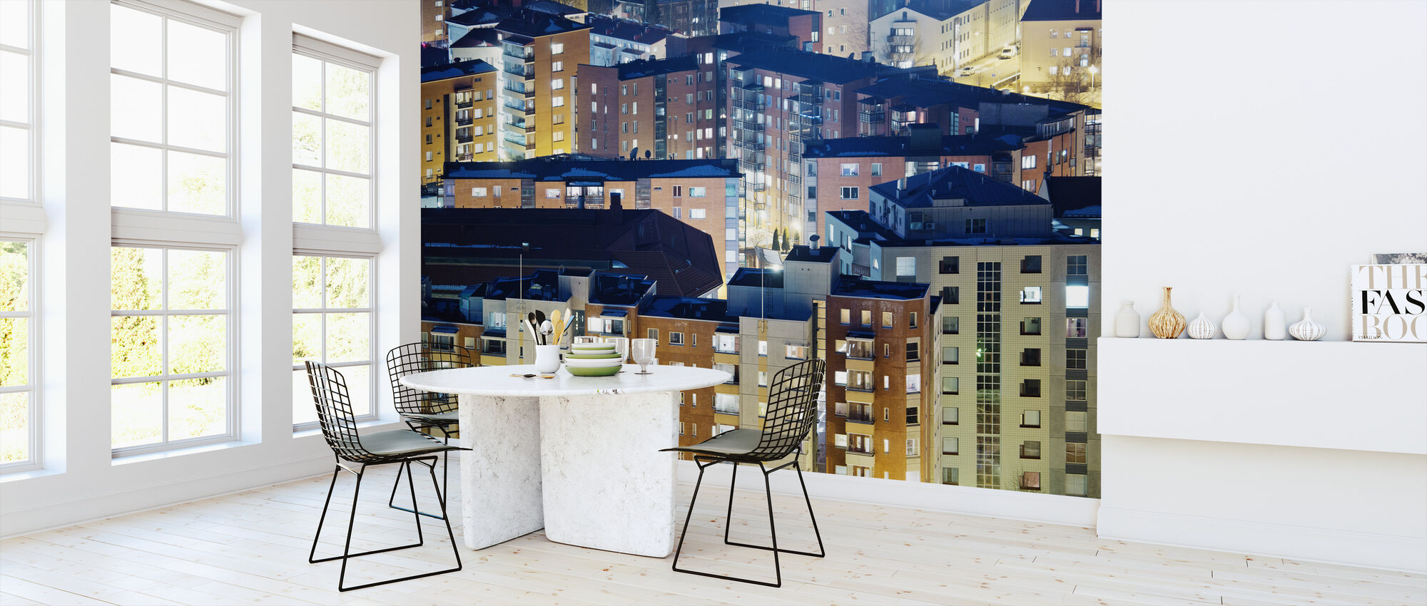 Roofs of Finland - Wallpaper - Kitchen