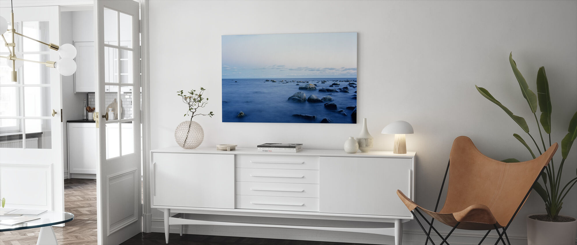Torhamn Horizon - Canvas print - Living Room