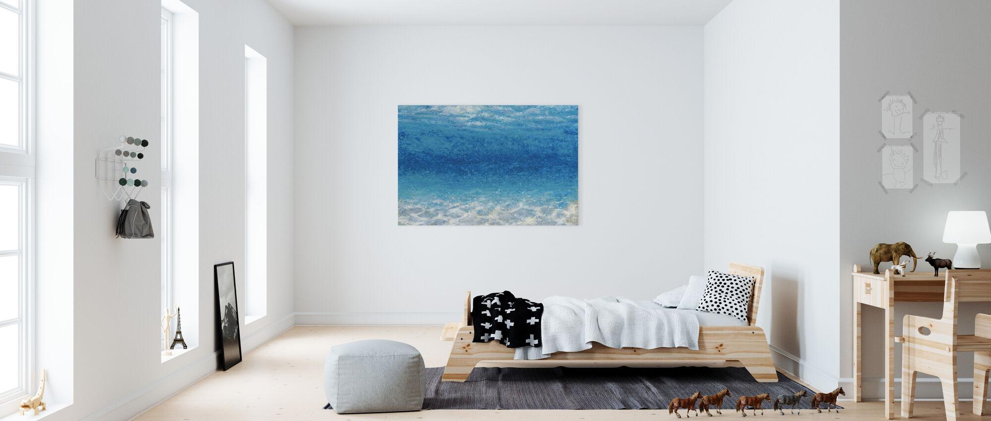 Underwater I - Canvas print - Kids Room