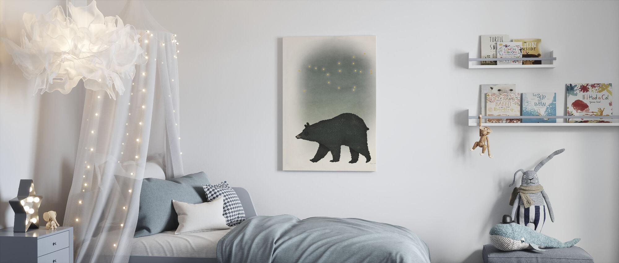 Ursa Major - Canvas print - Kids Room
