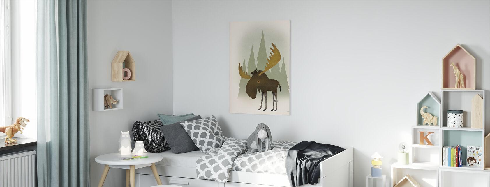 Bos Eland - Canvas print - Kinderkamer