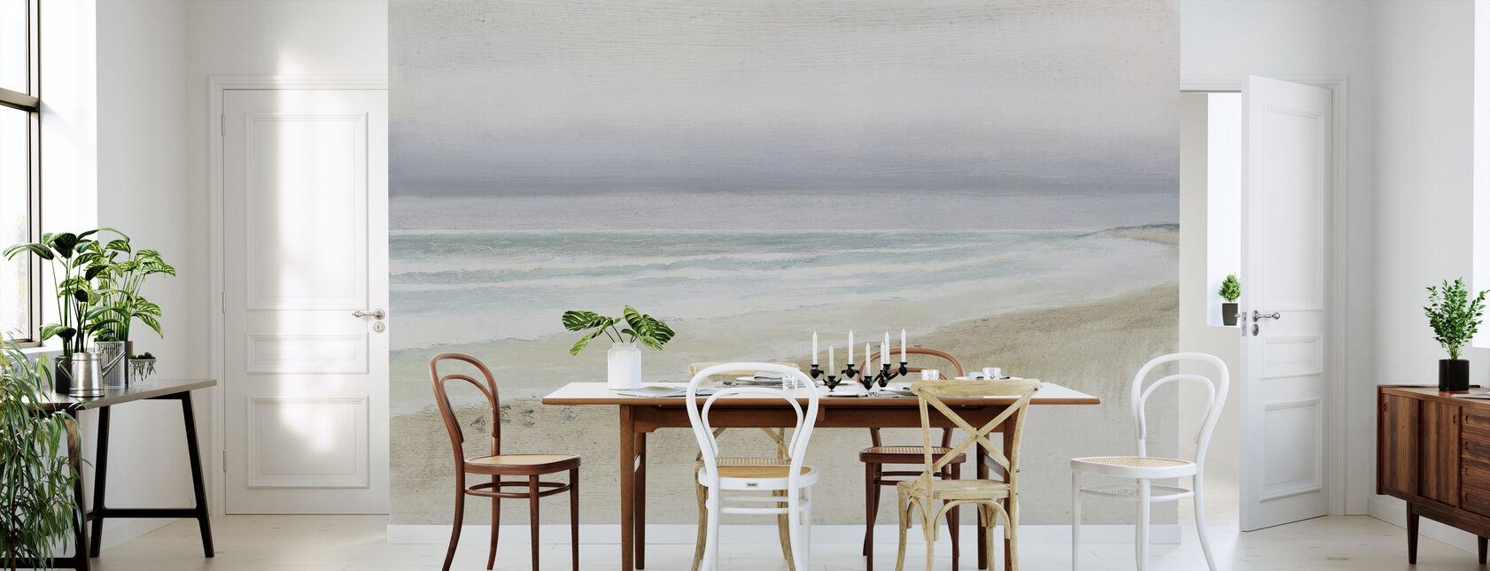 Serene Seaside - Wallpaper - Kitchen