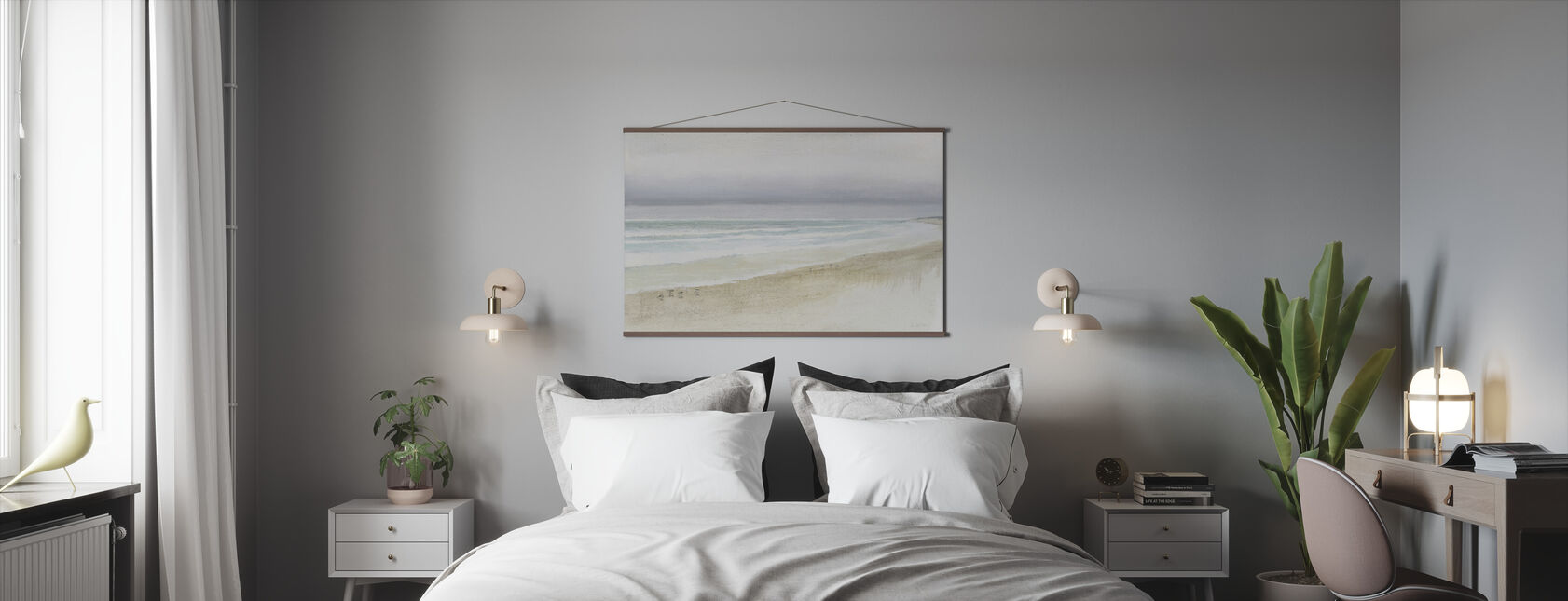 Serene Seaside - Poster - Bedroom