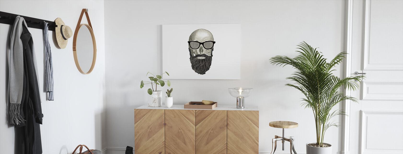 Hipsterin pääkallo I - Canvastaulu - Aula