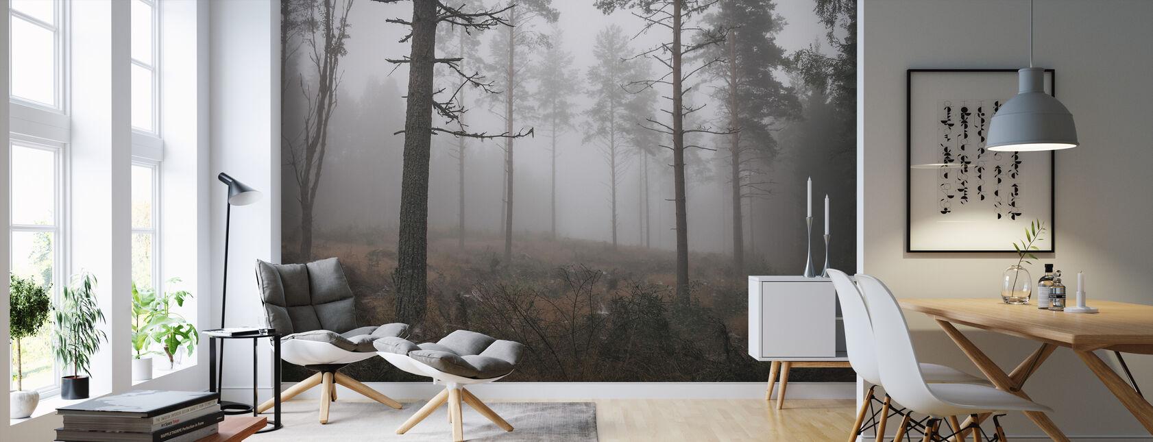 Early Spring - Wallpaper - Living Room