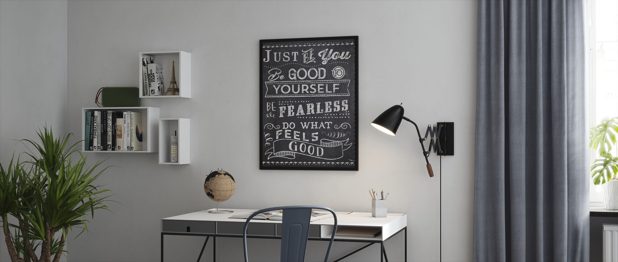 Just Be You II - Framed print - Office