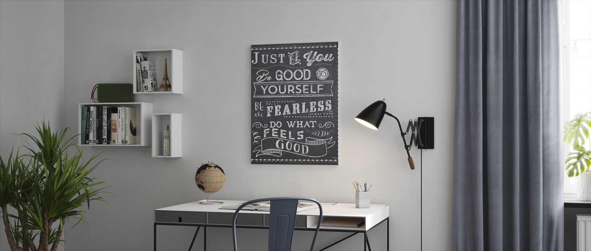 Just Be You II - Canvas print - Office