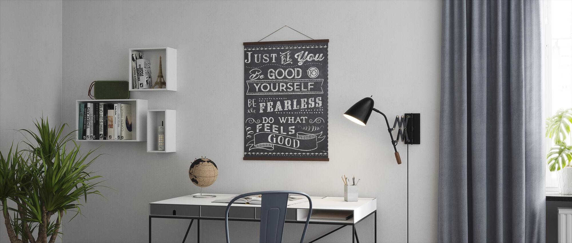 Bare være dig II - Plakat - Kontor