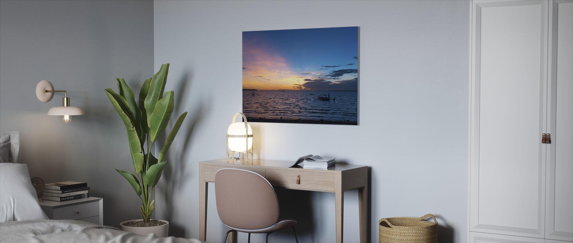 Bantayan Sunrise IV - Canvas print - Office