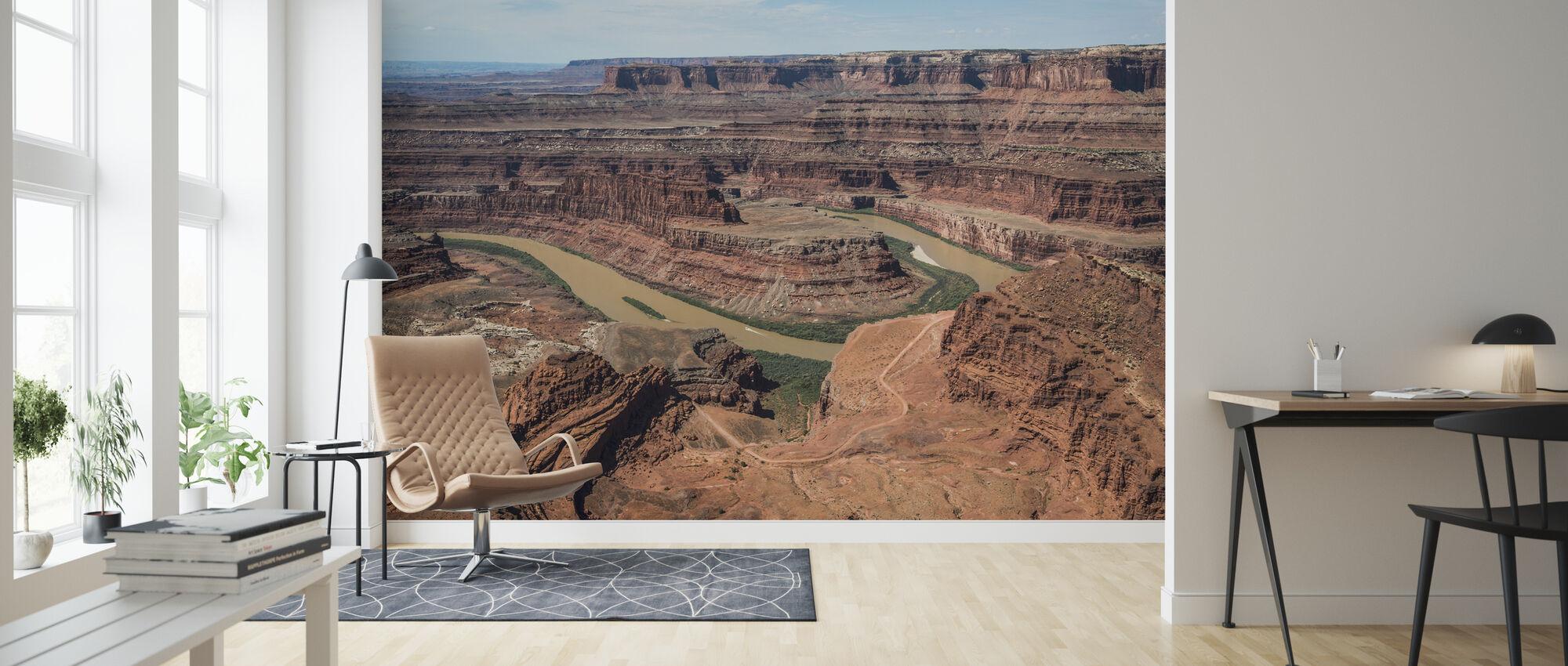 Døde Horsepoint perspektiv svanehals farge - Tapet - Stue
