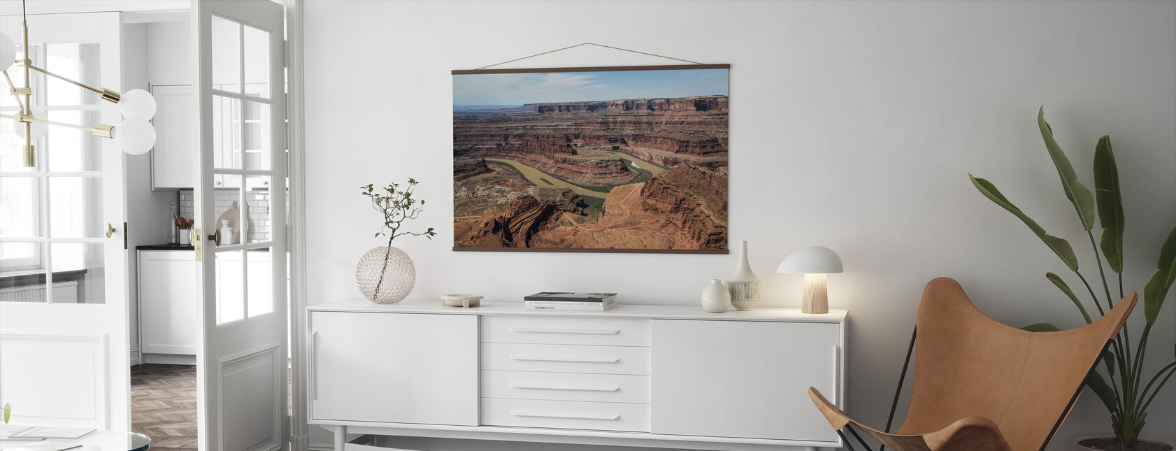 Dead Horsepoint Perspective of Gooseneck Color - Poster - Living Room