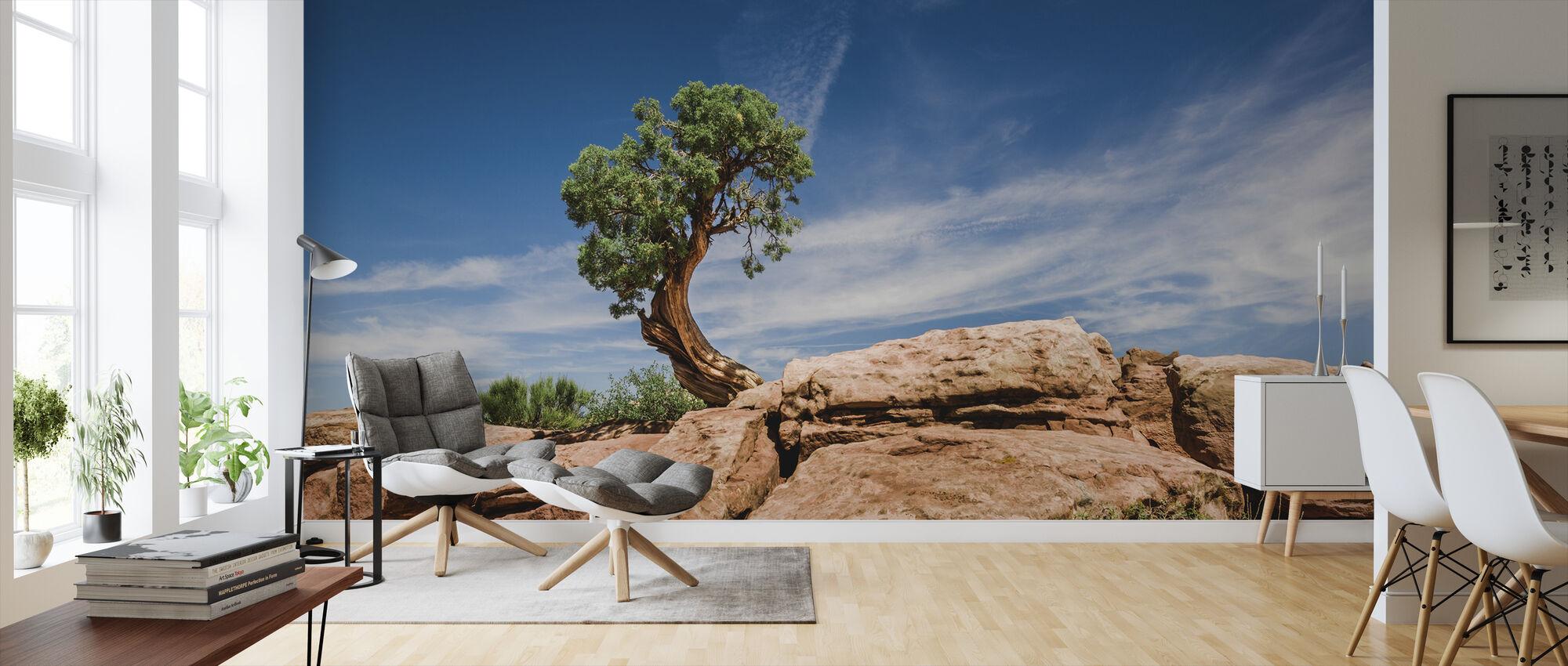 Desert tree in Utah - Wallpaper - Living Room
