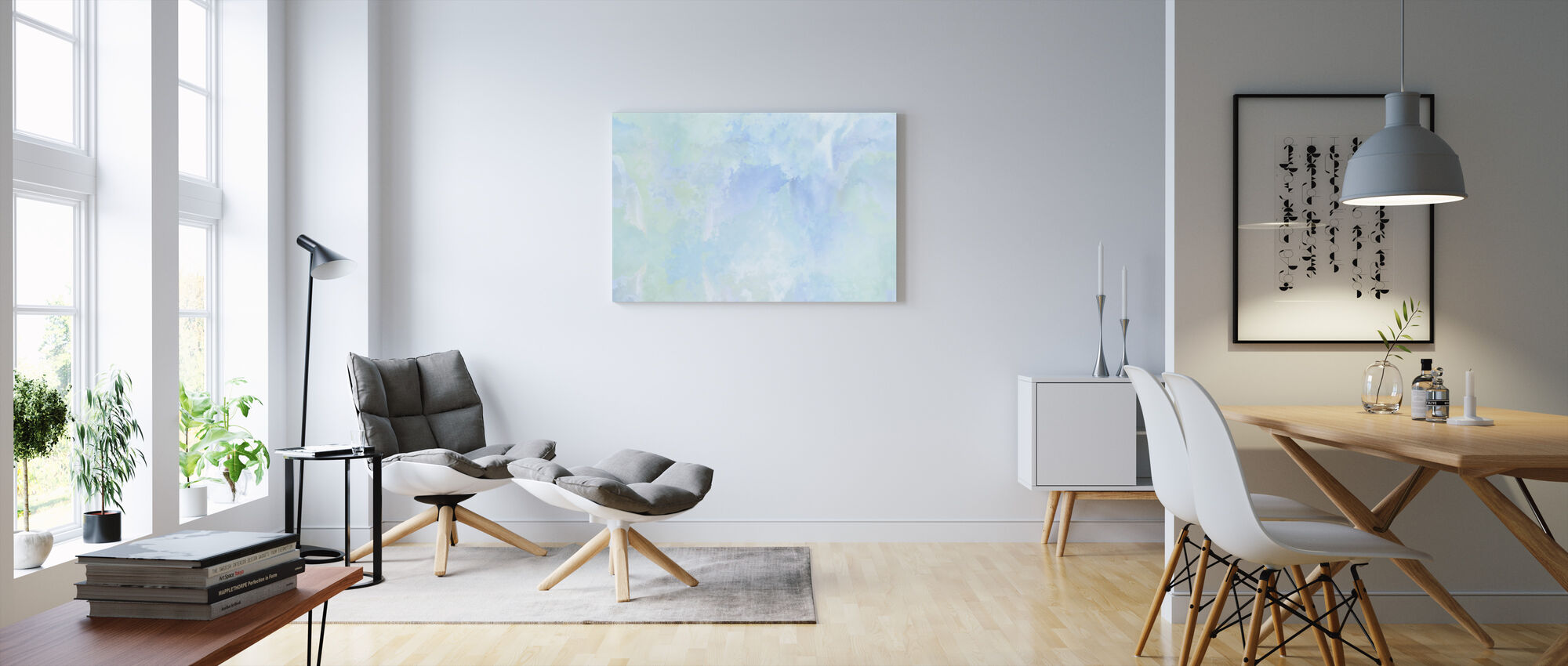 Flying High Sky - Canvas print - Living Room