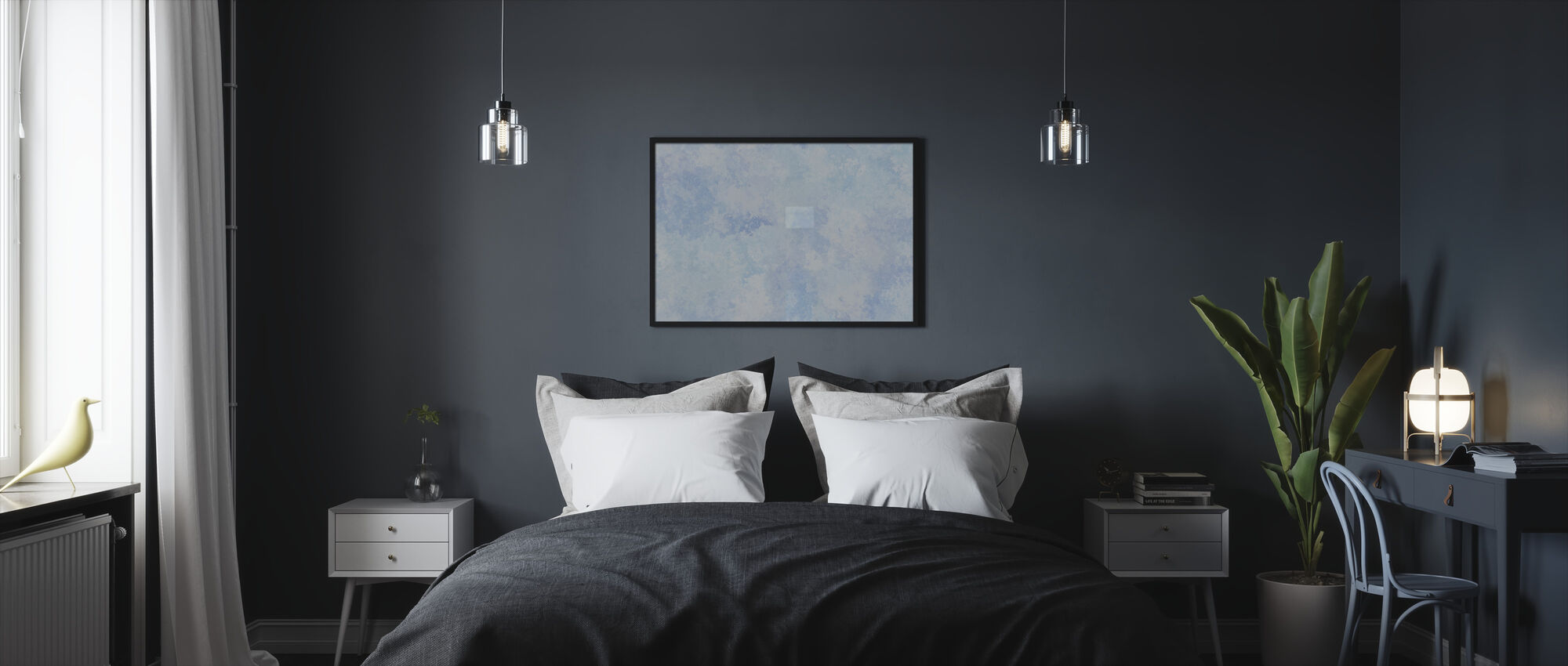 Flying High Sky 2 - Framed print - Bedroom