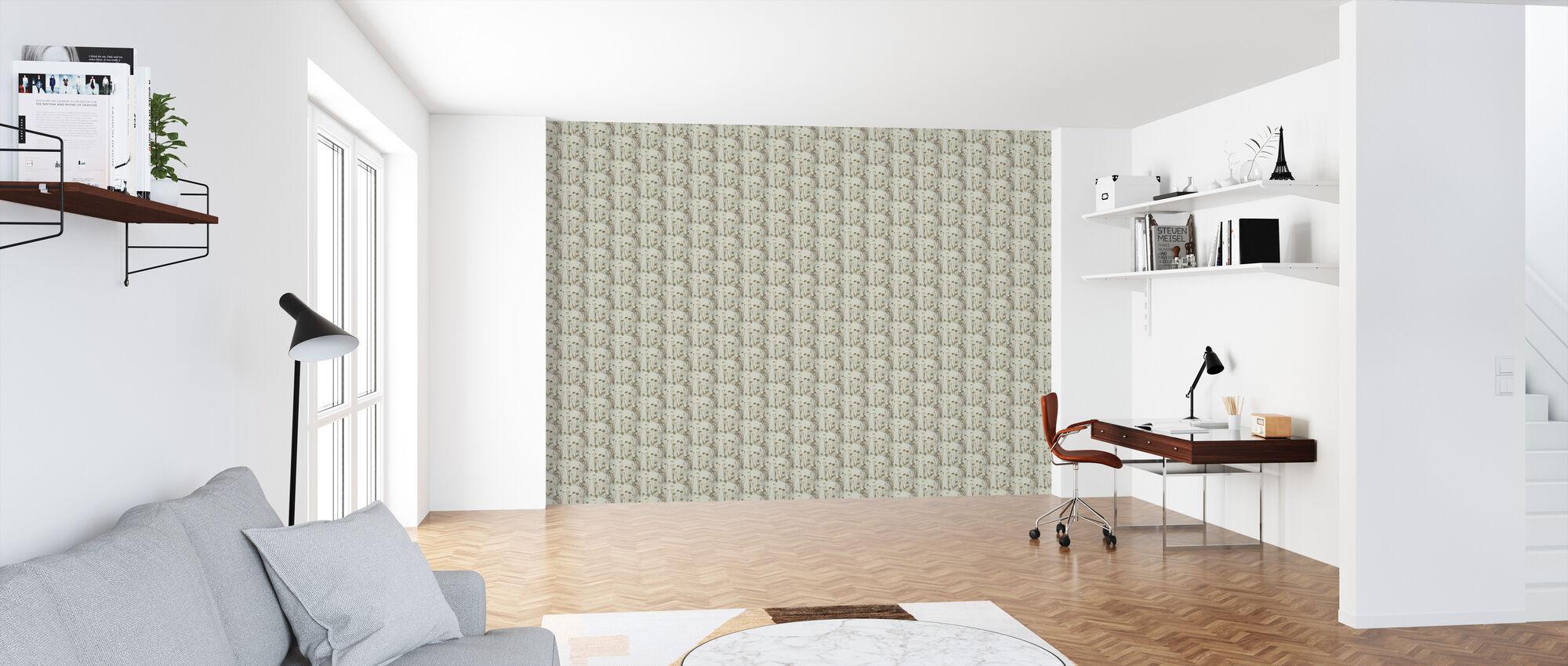 Golden Weeds - Wallpaper - Office