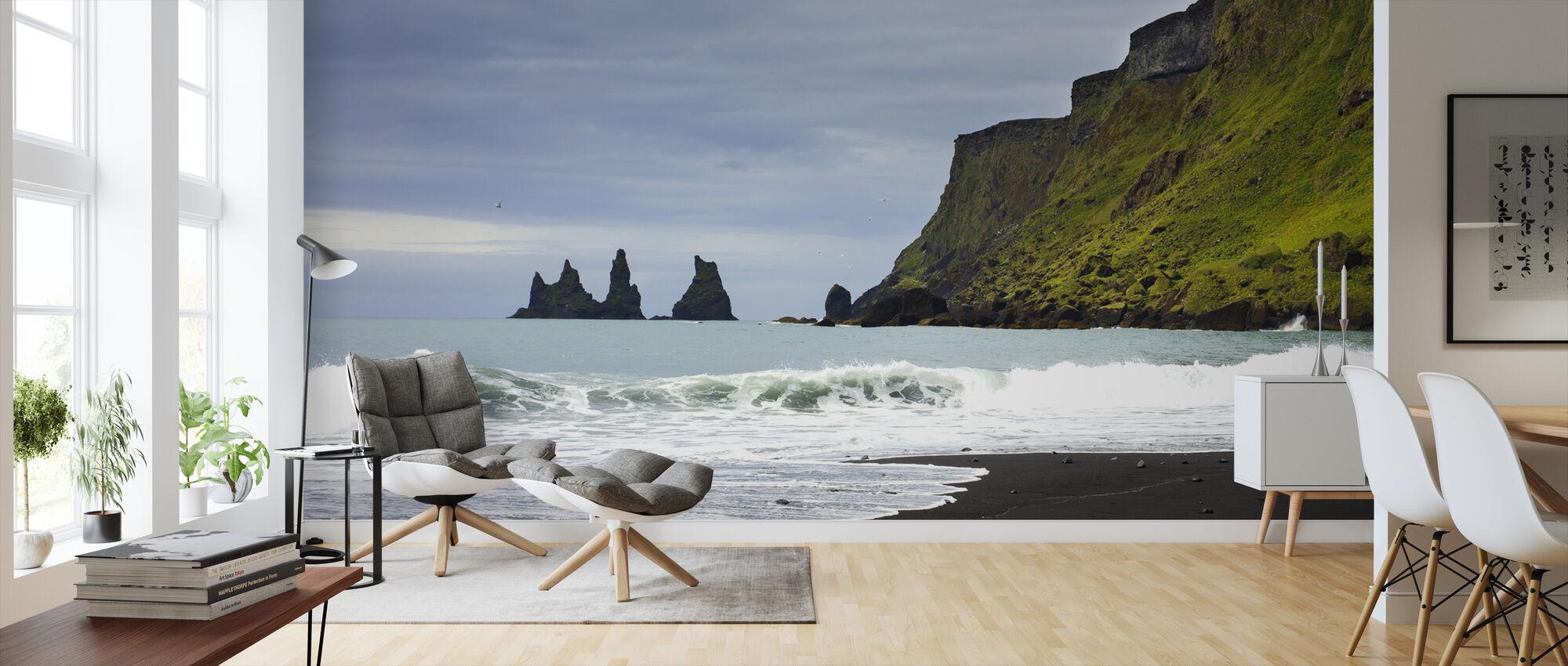 Svarta Sand Island - Tapet - Vardagsrum