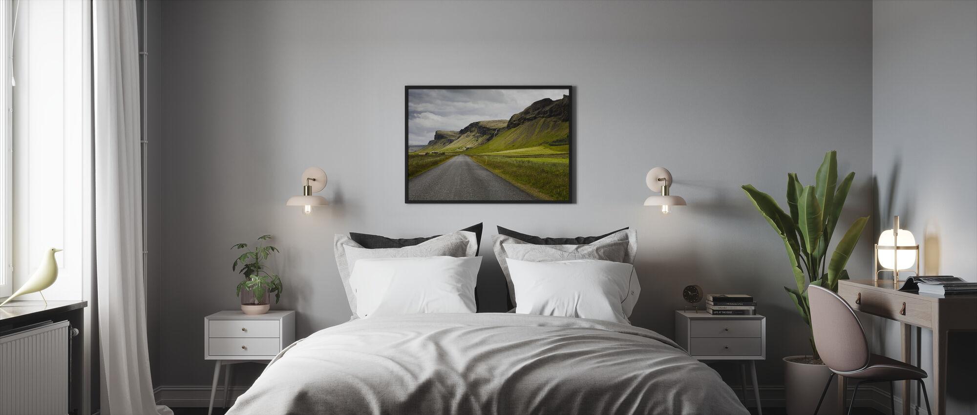 Shapes of Iceland - Framed print - Bedroom