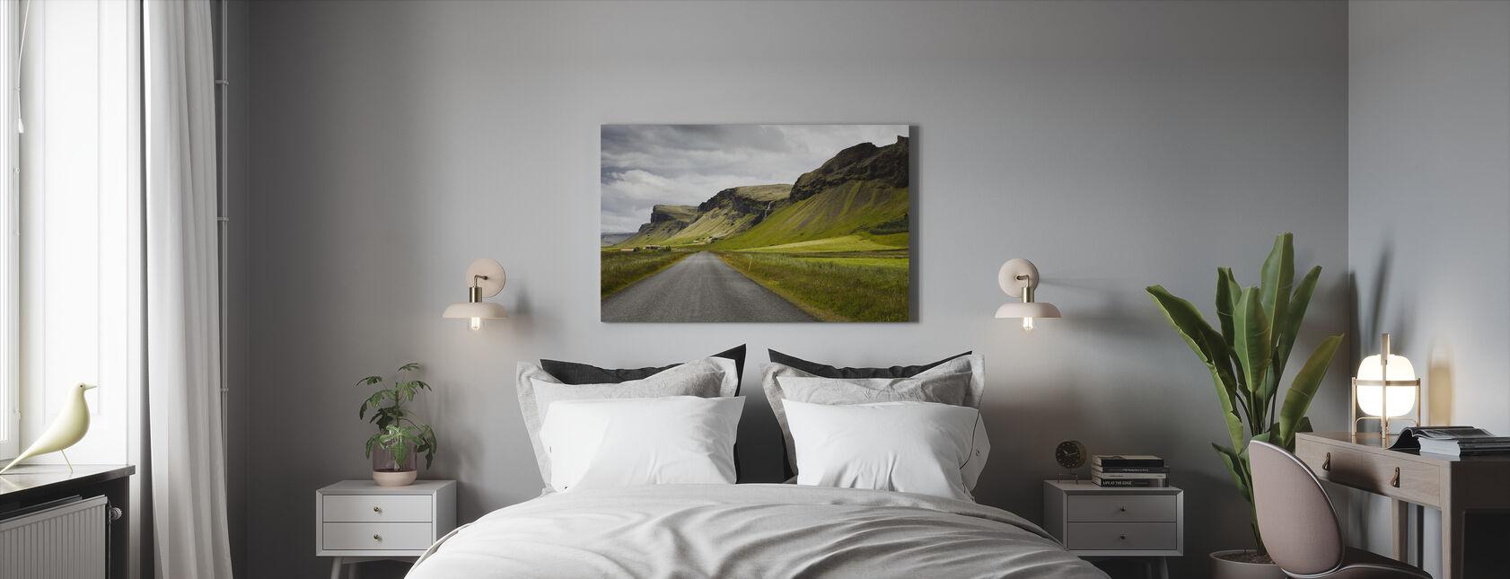 Islannin muodot - Canvastaulu - Makuuhuone