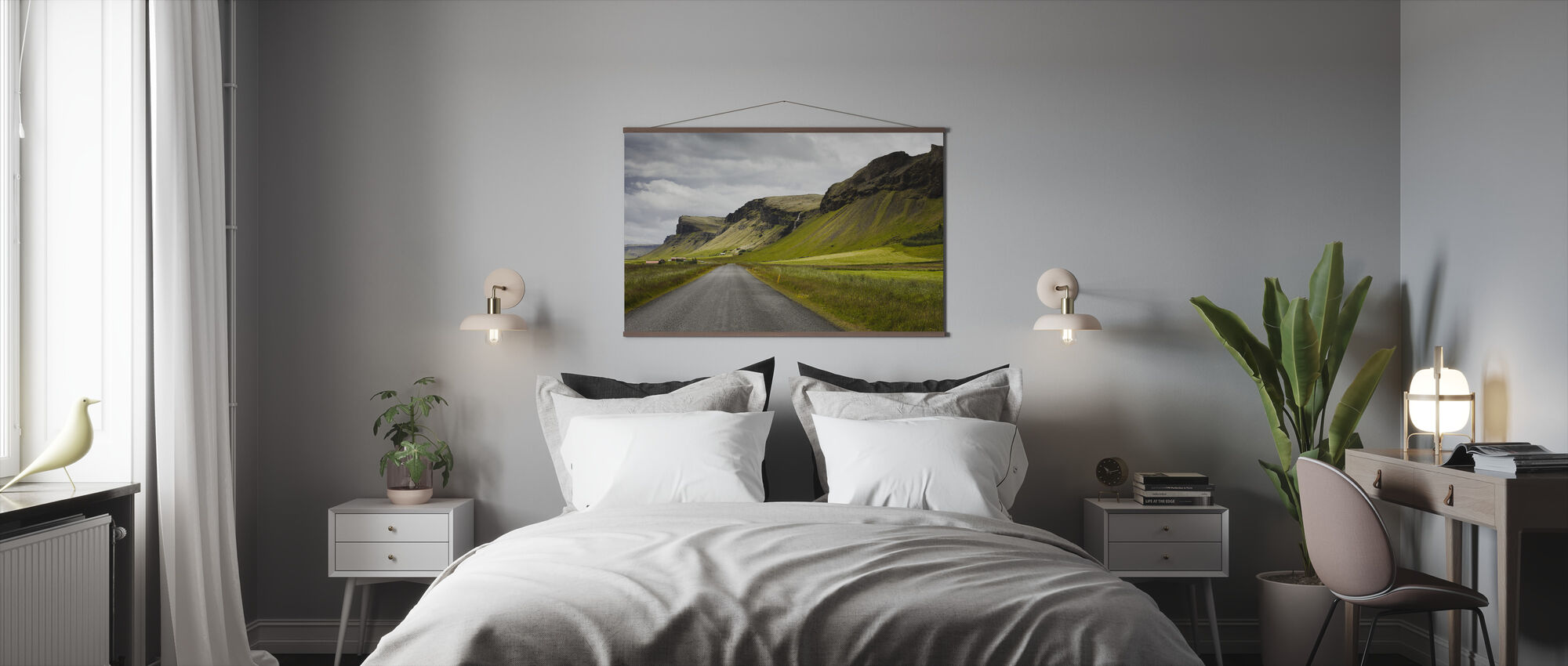 Shapes of Iceland - Poster - Bedroom
