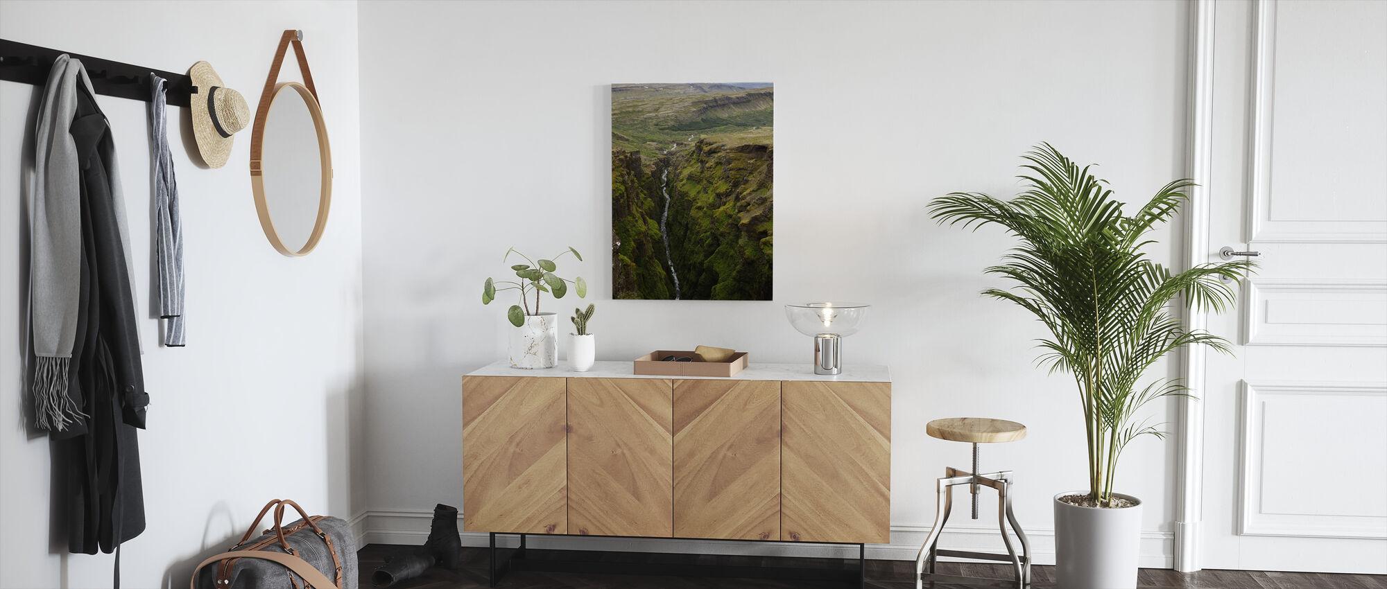 Glymur, Iceland - Canvas print - Hallway
