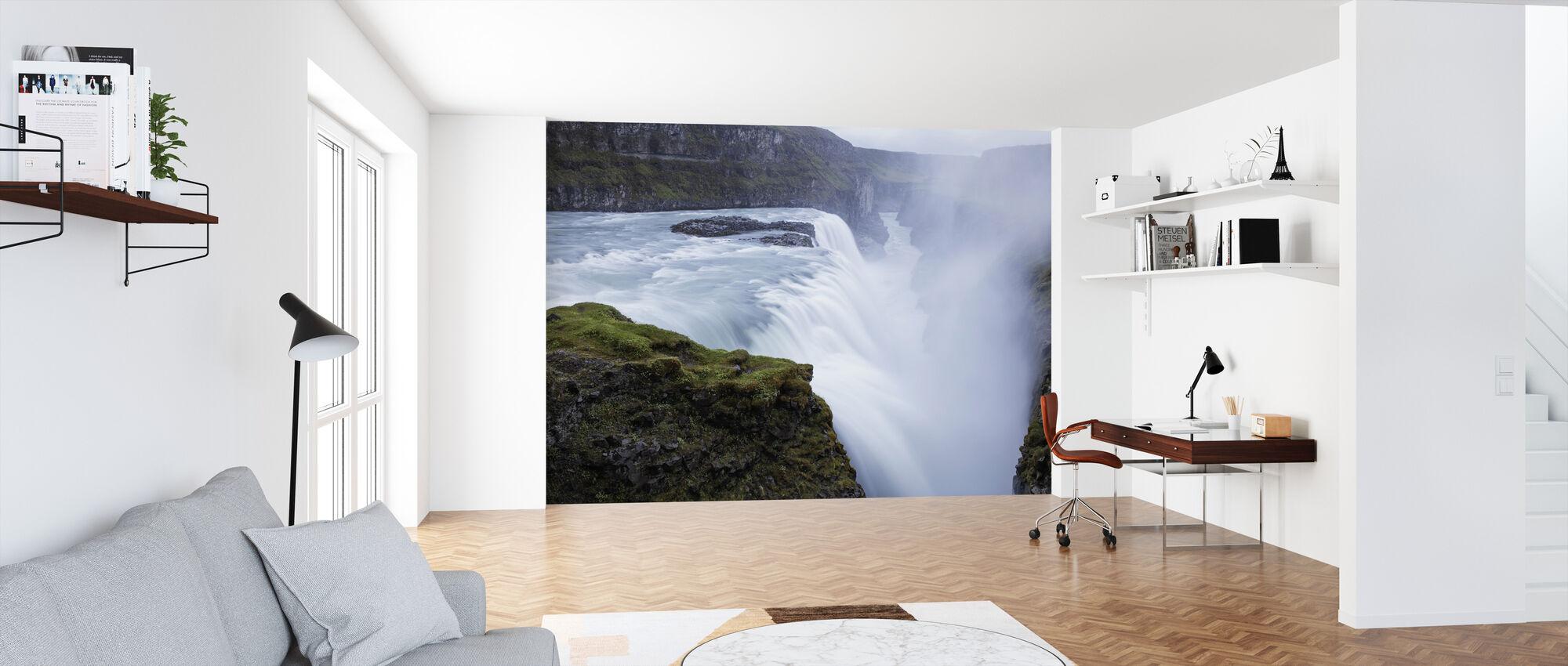 Gullfoss Waterfall, Iceland - Wallpaper - Office