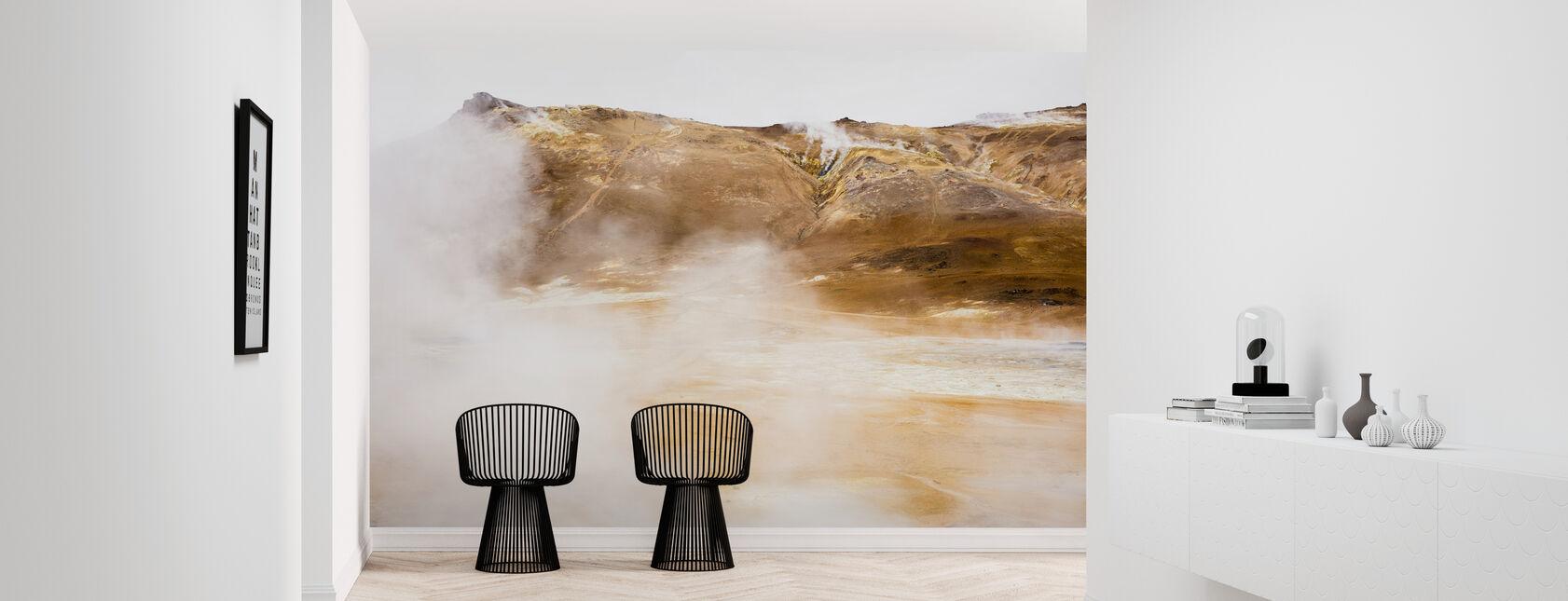 Hot Springs of Námafjall - Tapetti - Aula