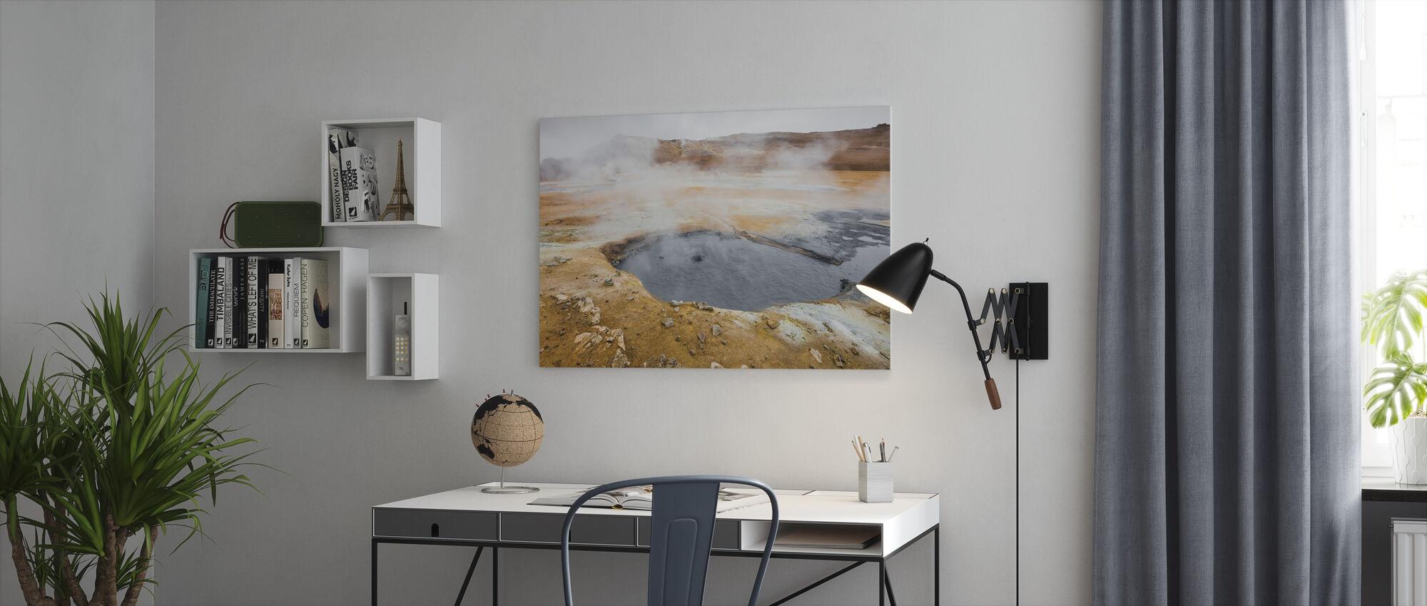 Island Geyser - Lerretsbilde - Kontor