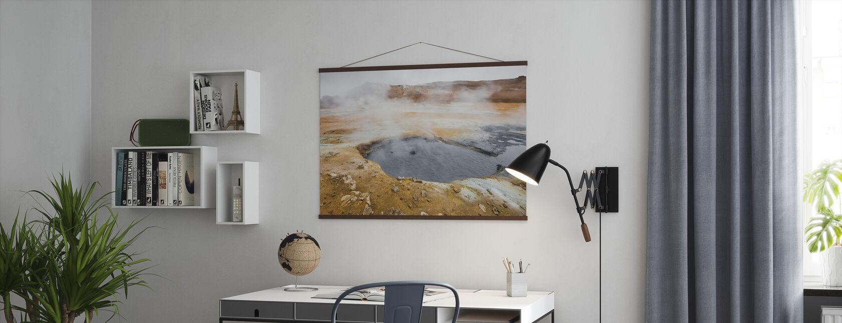 IJslandse Geiser - Poster - Kantoor