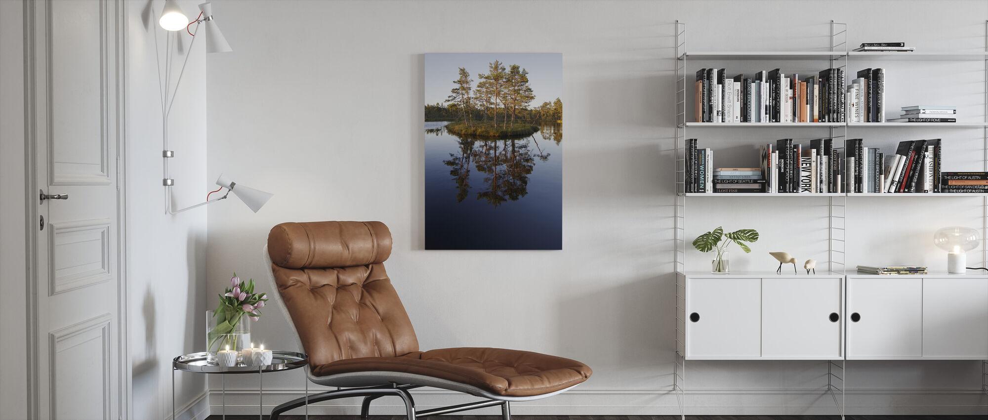 Knuthöjdsmossen, Sweden - Canvas print - Woonkamer