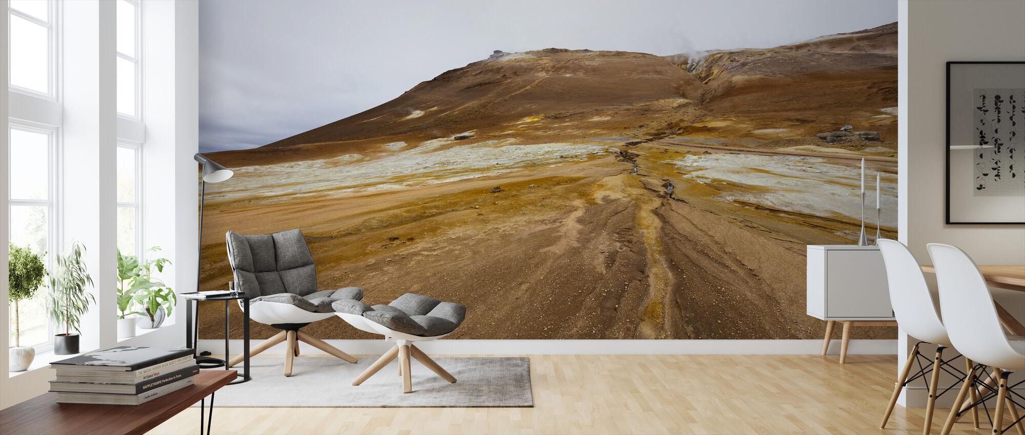 Mineral Landscape - Wallpaper - Living Room